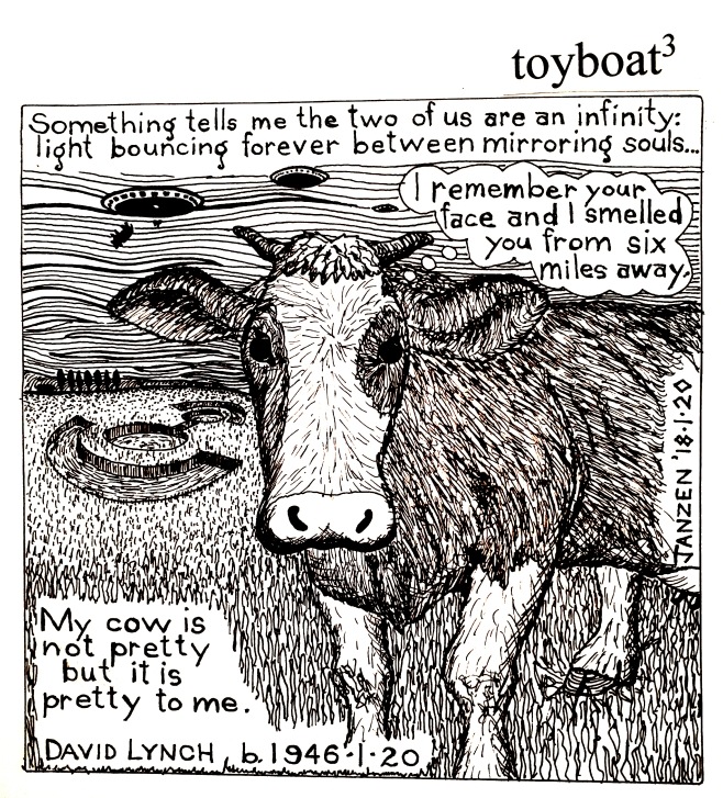 toyboat3 cow